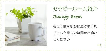 セラピールーム紹介 Therapy Room